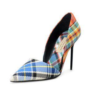 Burberry High Heel Pumps Shoes US 6.5 IT 36.5